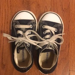 Black Converse for toddlers